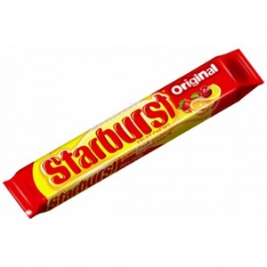 Wrigleys Starburst Original Fruit Chews - 2.07 Oz.