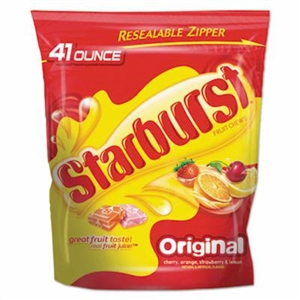 Starburst Original Stand Up Pouch - 41 Oz.