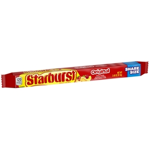 Wrigleys Starburst Original Tear/Share Fruit Candy - 3.45 Oz.