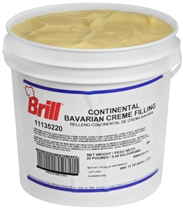 Filling Continental Bavarian Cream - 20 Lb.