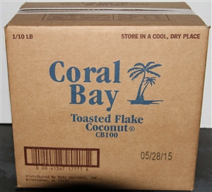 Coral Bay Toasted Flake Coconut - 10 Lb.