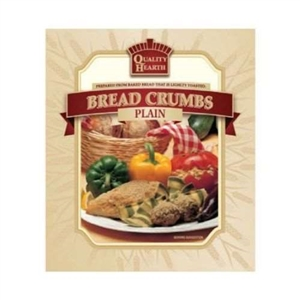 Quality Hearth Plain Bread Crumbs - 5 Lb.
