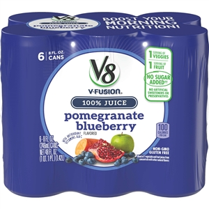 Campbell's Beverage V8 Fusion Pomegranate Blueberry Juices