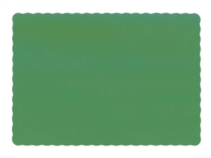 Economy Line Jade Paper Placemat - 9.5 in. x 13.5 in.