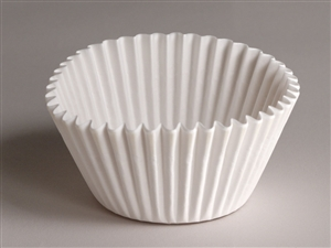 Paper Baking Cup White - 6 in.