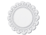 Cambridge Lace Doilies Paper White - 8 in.