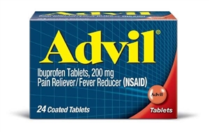 Pfizer Advil 24S Pain Reliever and Fever Reducer Tablet