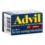 Advill Pain Reliever and Fever Reducer Tablet