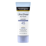 Neutrogena Ultra Sheer Dry Touch Sunblock Lotion Spf 45 - 3 Fl. Oz.