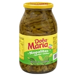 Dona Maria Pepper Sliced Nopalitos - 30 Oz.