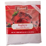 Clabber Girl Royal Gelatin Raspberry - 24 Oz.