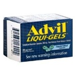 Pfizer Advil Liquigels Dispenser 24 Boxes of 50 Tablets