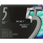 Wrigleys React Five Mint Gum