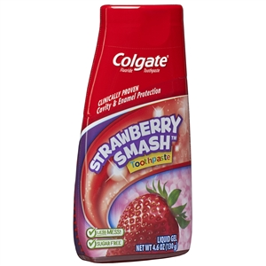 2-In-1 Strawberry Kids Toothpaste - 4.6 Oz.