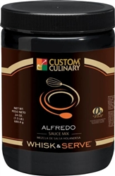 Custom Culinary Alfredo Gravy Mix - 38 Oz.