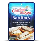 Sardines in Oil Pouch - 3.53 Oz.
