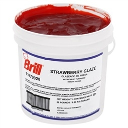 Glaze Strawberry - 20 Lb.