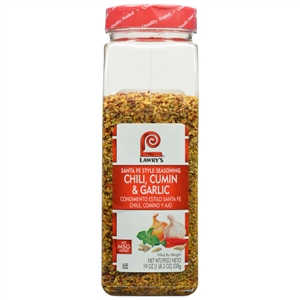 Lawrys Santa Fe Chili Cumin Garlic - 19 Oz.