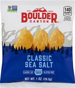The Inventure Group Boulder Canyon Totally Natural Chips - 1 Oz.
