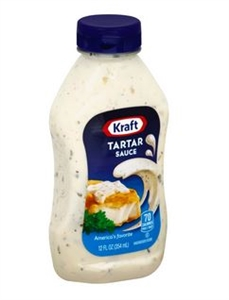 Kraft Nabisco Original Squeeze Tartar Sauce - 12 Oz.