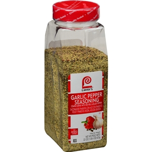 McCormick Lawrys Garlic Pepper, Coarse Grind Seasoning 22 oz.
