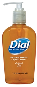 Antibacterial Liquid Soap Pump - 7.5 Oz.