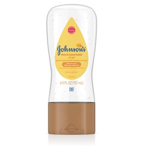 Johnsons Baby Oil Gel Sheacoc - 6.5 Fl. Oz.