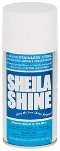 Sheila Shine Cleaner and Polish Aerosol - 10 Oz.