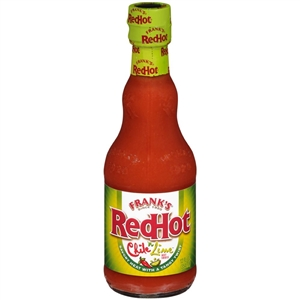 Franks Red Hot Chile n Lime Sauce - 12 Oz.