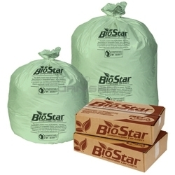 Biostar Green Perforated Roll Liner - 40 in. x 46 in.