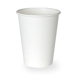 Dixie Paper Hot Cup White - 8 oz.
