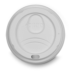 Perfectouch Paper 8 oz. Hot Cup White Dome Lid