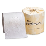 Preference Bath Tissue Embossed 2 Ply White