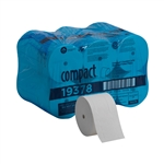 Compact Coreless Bath Tissue High Capacity Big 2 Ply Roll