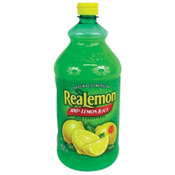 Motts Realemon Lemon Juice - 48 Oz.