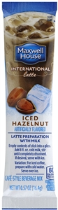 Maxwell House International Cafe Coffee Drink-Instant Flavored Hazelnut - 0.57 Oz.