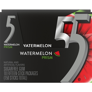 Wrigleys Prism 5 Single Serve Sugar Free Gum