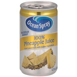 Beverage Pineapple 100 percentage Juice - 5.5 Oz.