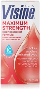 Visine Maximum Redness Relief Eye Drops - 0.5 Fl. Oz.