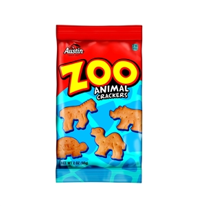 Crackers Austin Zoo Animal - 2 Oz.