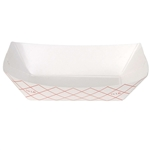 Red Kant Leek 0.25 lb Polycoated Food Tray