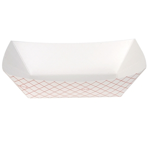Red Kant Leek 2.5 lb Polycoated Food Tray