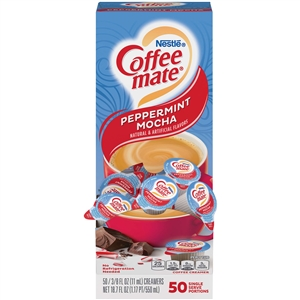 Coffee-Mate Peppermint Mocha Liquid - 0.38 Oz.