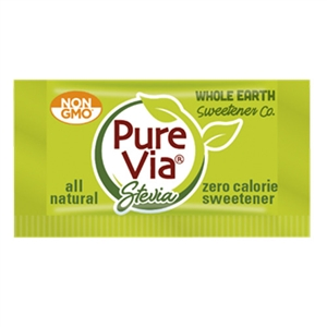 Sweetener Purevia Single Serve Packets Green - 0.04 Oz.
