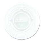 Clear Dixie 1.5 and 2.5 oz. Souffle Cup Lid