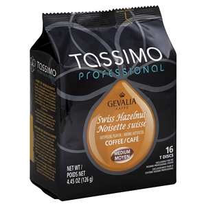 Coffee Tassimo Gevalia Swiss Hazelnut - 4.45 Oz.
