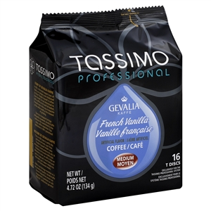 Coffee Tassimo Gevalia French Vanilla - 4.72 Oz.
