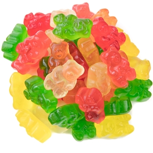 Gummi Bears Regular Assorted Fruit - 5 Lb.