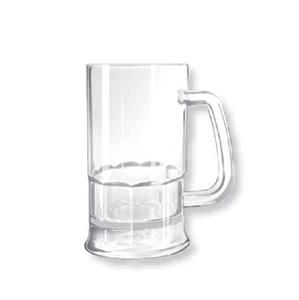 G.E.T. Enterprises Beer Mug Clear - 12 Oz.
