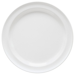G.E.T. Enterprises Round Plate White - 7.25 in.